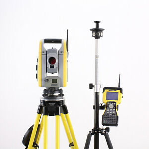 Trimble S6 Robotic Total Station W Tsc2 Data Collector Access Software