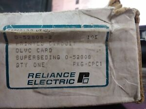 Reliance Electric 0 52808 2 Pc Module Board Olvc Pcb New In Box Surplus
