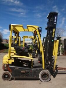 Electric Forklift 2013 Hyster J40xn With Refurb Battery