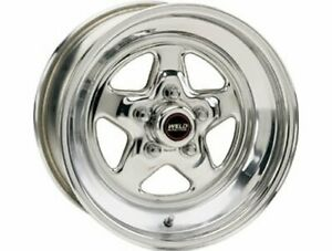 Weld Racing Wheel Prostar Aluminum Polished 15 X5 5x4 75 Bc 3 5 Backspace Ea