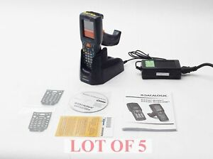 Lot 5 New Datalogic Dl skorpio g 701 902 Touchscreen Barcode Scanner W Chargers
