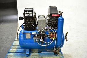 Used Freedom Line Ct9d Dental Air Compressor System For Operatory Pressure
