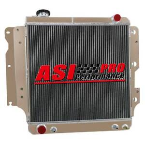 Pro 3 Row Radiator For 1987 2006 2001 Jeep Wrangler Tj Yj 4 0l 2002 2003 2004 05