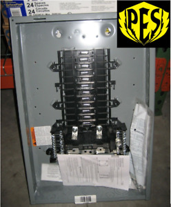 Square D Qo124l125pg 125 Amp 24 Space Mlo Load Center W cover