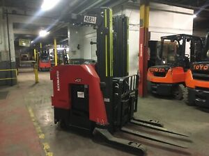 2013 Raymond Reach Forklift 3500 Lb 83 189 Mast W Built In Scale