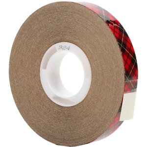 Scotch Atg Adhesive Transfer Tape 924 Clear 0 50 In X 36 Yd 2 Mil