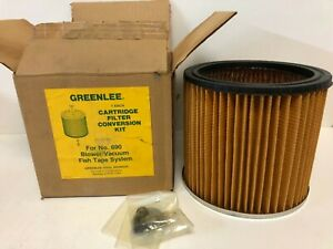 New Old Stock In Box Greenlee 502 8338 3 Cartridge Filter Conversion Kit For 690