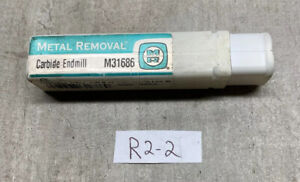 Mint Metal Removal Carbide Endmill M31686 1 2 x1 1 4 x3 For Stainless Steel