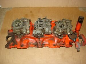 1961 Chevy Impala Bel Air Orig Survivor 348 Tri Power Set Up 3749948 Dated E2261