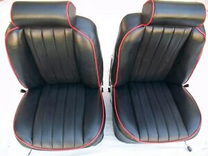 Porsche Seats Headrest 1969 1973 911 Original Recaro 911t 912