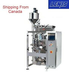 Liquid Packing Vertical Form Fill Seal vffs Machine with Video