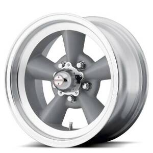 17x8 American Racing Tt O 5x139 7 Et0 Vintage Wheels Set Of 4