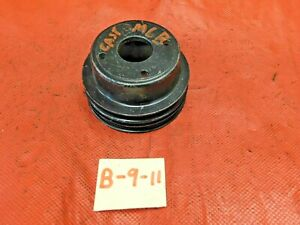 Mgb Water Pump Pulley 2 groove Cast Iron Original