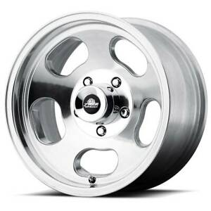 15x8 American Racing Ansen Sprint 5x127 Et0 Polished Rims Set Of 4