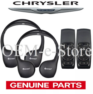 2017 2019 Chrysler Pacifica Uconnect Dvd Theater System 2 Headphones 2 Remotes