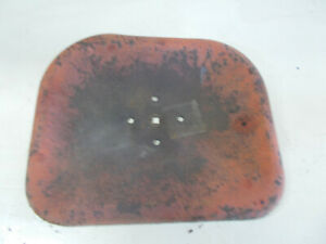 Steel Farm Implement Seat Tractor