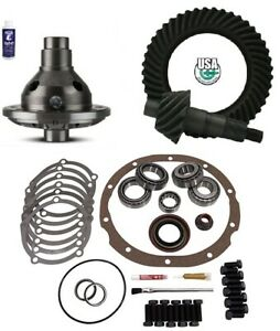 Ford 8 3 55 Ring And Pinion 28 Spline Traclok Posi Master Kit Usa Gear Pkg