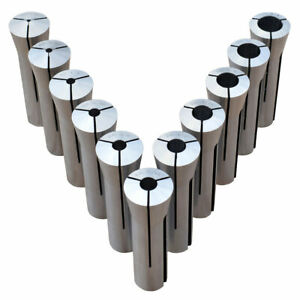 Ultra Precision 11 Pc R 8 Collet Set 1 8 3 4 Made In Taiwan Free Shipping