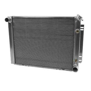 Be Cool Radiator Direct fit Aluminum Natural 26 Wide 19 High 3 Thick Each