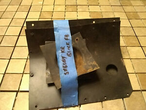 1968 Mustang Shelby Gt350 Gt500 Used Original Taillight Protectors Metal