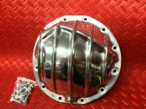 Rear End Aluminum Differential Cover Polished 12 Bolt Gm Car Pattern Thick H D