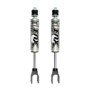 Fox 2 0 Performance Series Shocks Front Pair For 2006 2010 Hummer H3 4wd