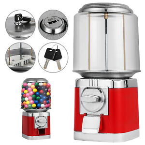 Bulk Vending Gumball Candy Machine Snack 375 1 Gumballs 25 Coin Lock