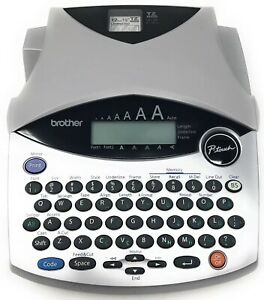 Brother P touch Pt 1950 1960 Portable Label Maker Working No Ac Adapter