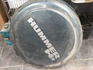 2006 2010 Hummer H3 Rear Spare Tire Hard Cover