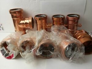 Viega 2 1 2 inch Xl Propress Copper Fittings Zer0lead Lot Of 9 Germany