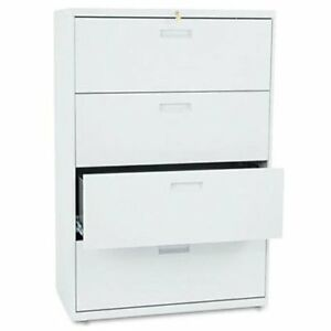 Hon 500 Series Lateral File 36 X 19 3 X 53 3 Steel 4 X File Drawer s