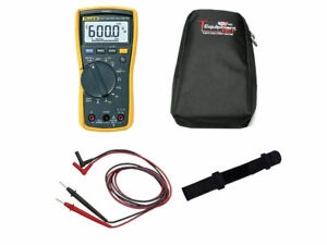 Fluke 117 Pro Te Bundle Includes Fluke 117 True Rms Multimeter Test Leads Carr