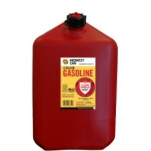Midwest Can 6610 Fmd Gasoline Container 6 Gallon Gas Can
