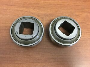 lot Of 2 Jd9248 John Deere Original Equipment Square Bore Harrow Ball Bearing