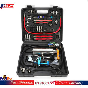Universal Non dismantle Automotive Fuel System Cleaner Gasoline Injector Tester