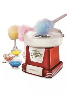 Retro Electric Commercial Cotton Hard Candy Machine Maker Nostalgia Sugar Free