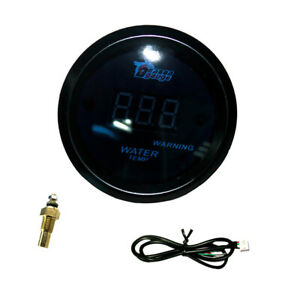 Waterproof 12v Car 52mm 2 Water Temperature Gauge Meter With Sensor Kit