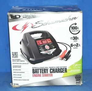 Schumacher Sc1281 2 6 30 100a 6 12v Fully Automatic Battery Charger