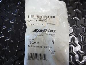 Snap On Thread Tap T2025m