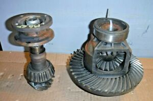 Mgb Mgb Gt Tube Type Axle 3 9 Differential Carrier Ring Pinion Nice Guaranty Mv