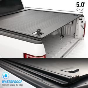 For 2010 2020 Tacoma 5ft Bed Tonneau Cover Aluminum Retractable Roll Waterproof
