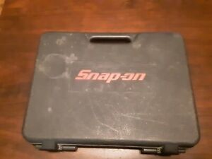 Case And Instruction Manual For Snap On Cordless Screwdriver Cts561