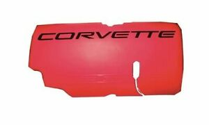 Gm Performance 12564257 Fuel Rail Cover Left Red Chevy Small Block Ls1 Ea