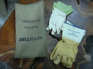Bellsouth Insulated Leather Lineman Gloves With Liners