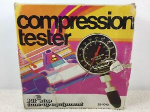 Vintage Canadian Tire Compression Tester Lbs Kgs Compression Up To 300lbs Nos