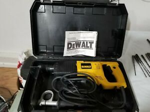 Dewalt Dw565 Rotary Hammer Drill With Case Pre Owned And Bits
