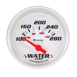 Equus 8162 8000 Series Water Temp Gauge
