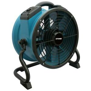 Industrial Axial Blower Fan Dryer Circulator Professional 3 Hr Timer Commercial