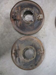 1932 Ford Original Front Backing Plates