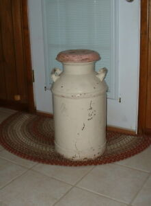 Antique Milk Can Pick Up In Nw Arkansas